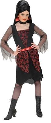 Vampyrkjole til Halloween