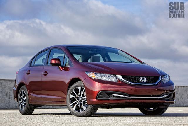 2013 Honda Civic EX front shot