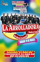 la arrolladora banda limon palenque texcoco 2016