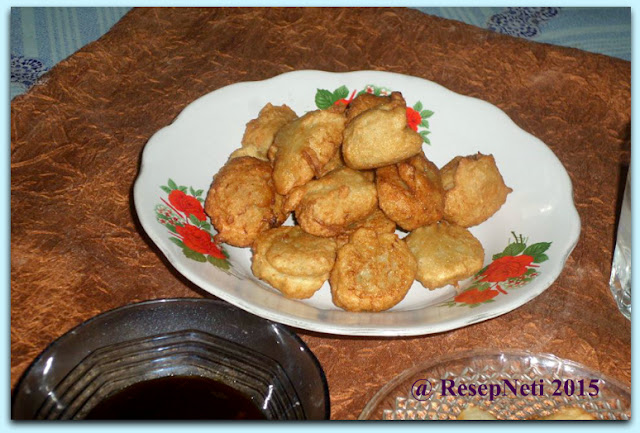 Pempek with Chayote mixed Recipe at kusNeti kitchen 2015