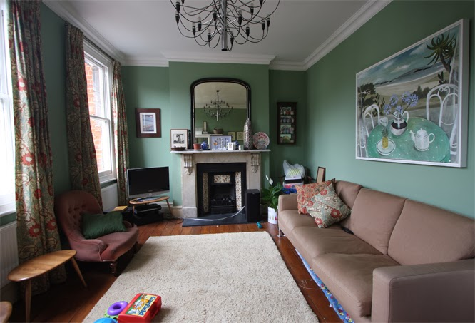 Our old sitting room by alexis at www.somethingimade.co.uk
