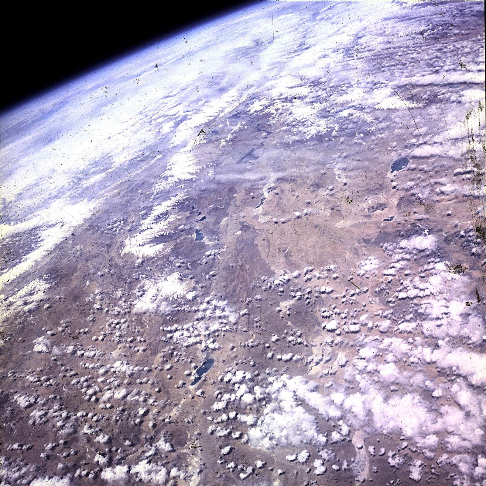 Imagen de las tierras altas del Tibet tomada por Cooper