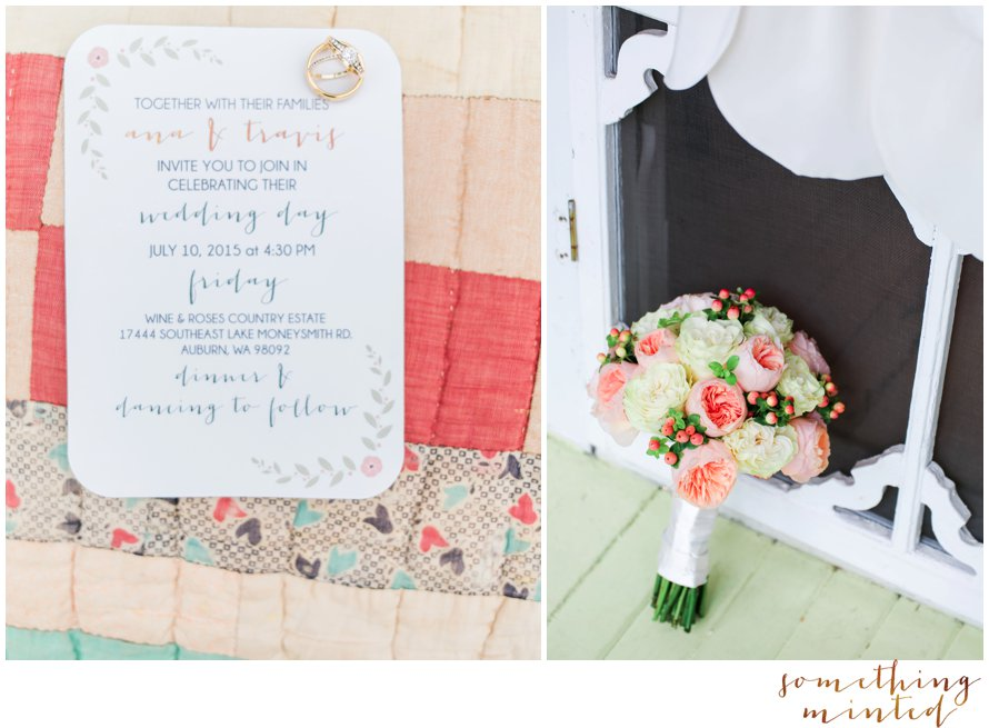 Dreamy Wedding Invitation Suite | Something Minted Photography