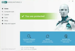 NOD32 AntiVirus 9.0 Inc.Key