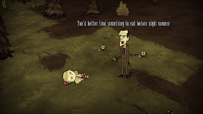Don't Starve Wendy Maxwell waking up
