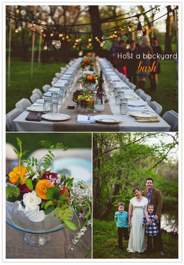 Perfect Backyard Party : 100 Year Celebration Decorations http7yearweddingblogspotcom2013