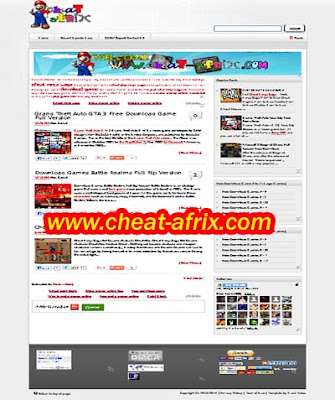 Download Template SEO 2013 By Cheat-Afrix