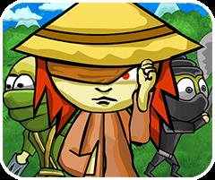 Game cô gái mù, chơi game ninja online