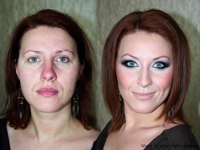 maquillaje le tapa las imperfecciones