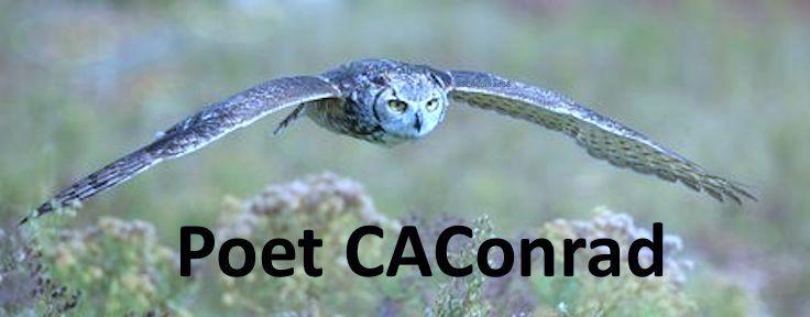 poet CAConrad