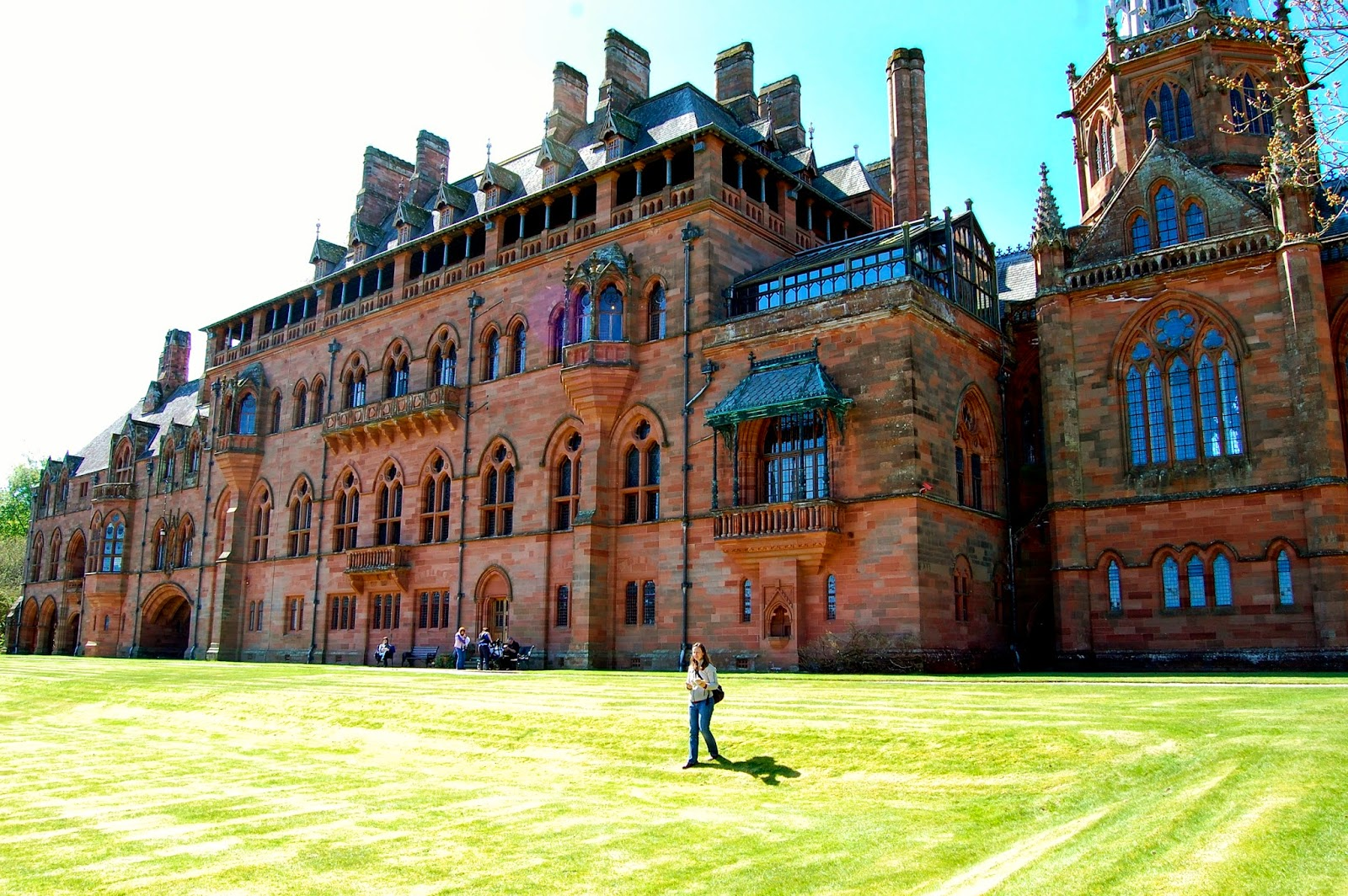 Mount Stuart house, Isle of Bute, Scotland