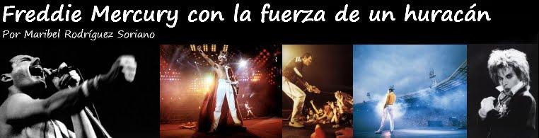 Freddie Mercury con la fuerza de un huracán