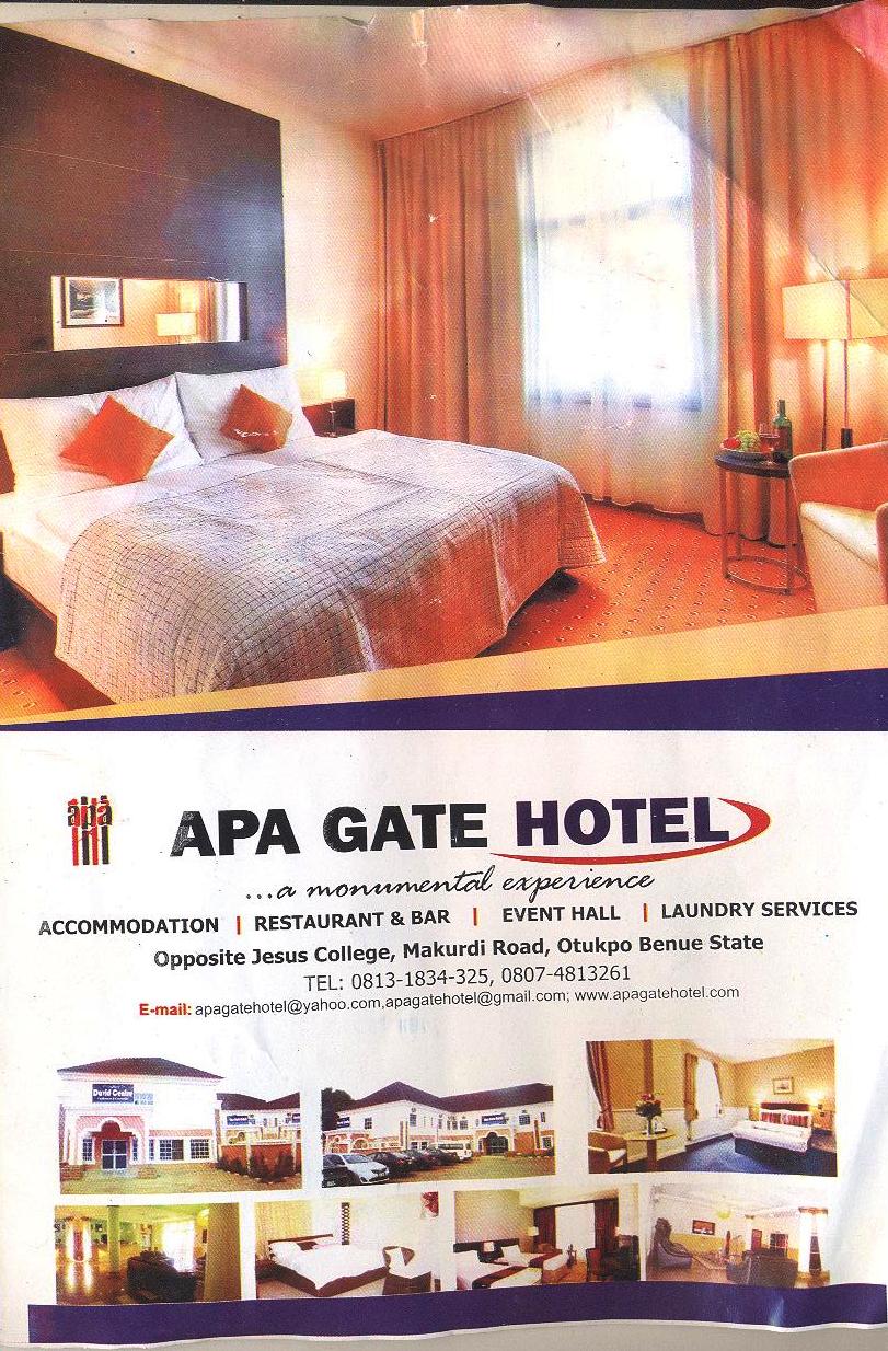 Apa Gate Hotel, Otukpo, Benue State