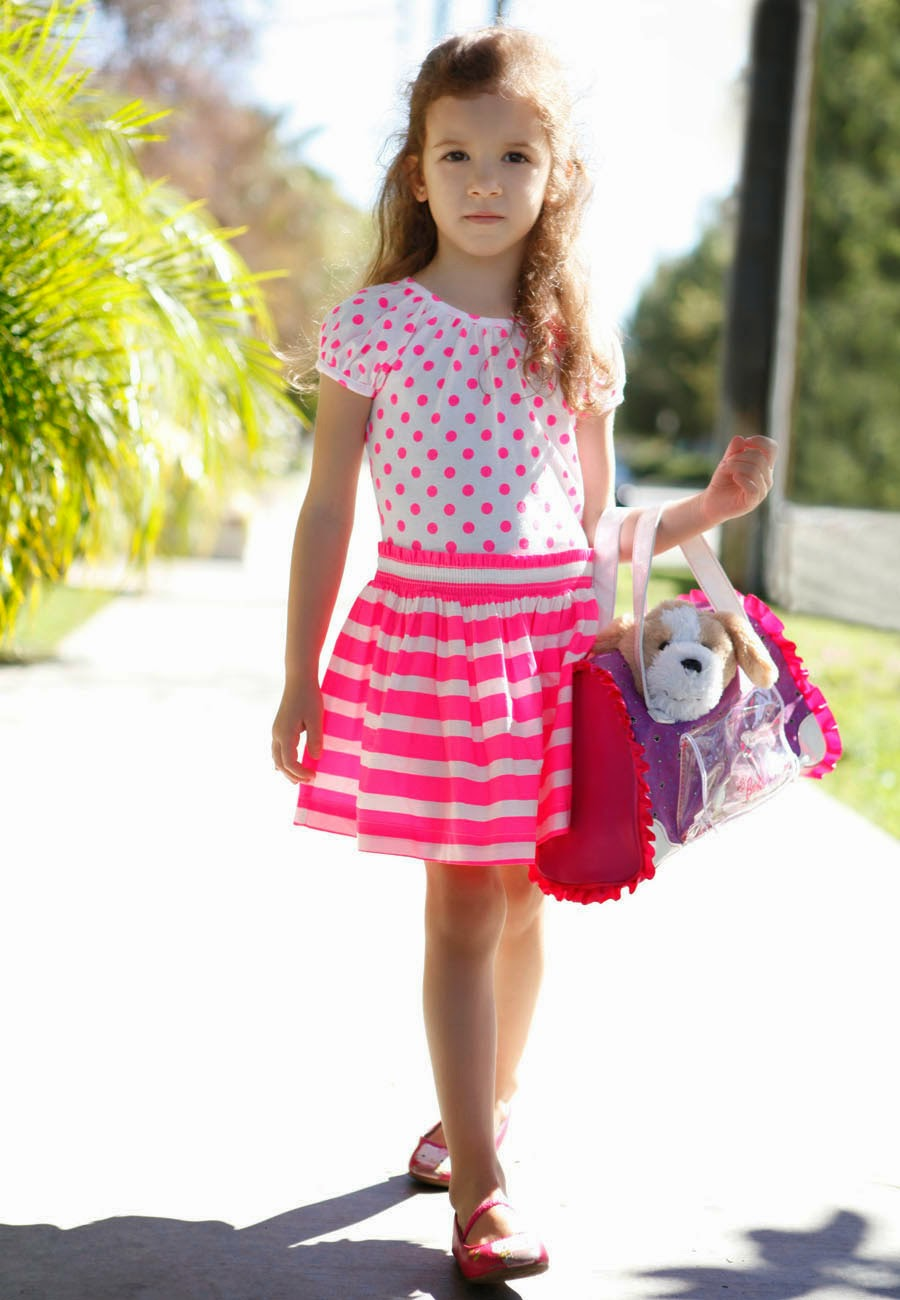 Stripes and Polka Dots Dress