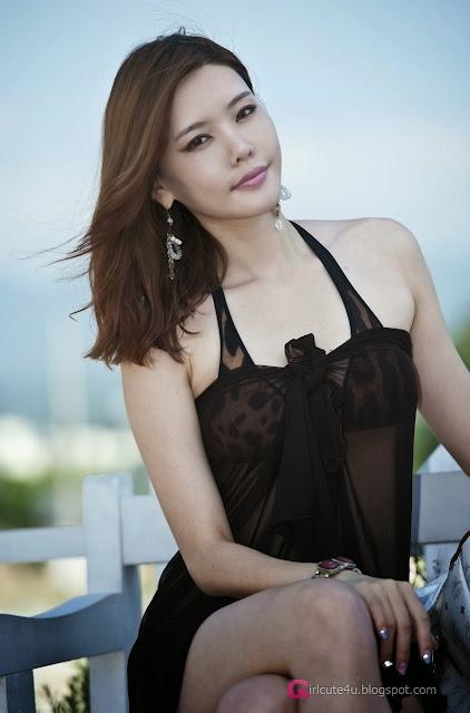 1 Go Da Yeon on a beach -Very cute asian girl - girlcute4u.blogspot.com