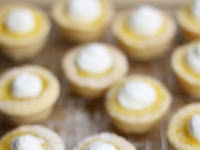 Sugar Cookie Lemon Tarts