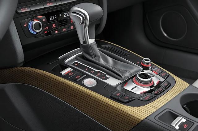 2012 Audi A5 Cabriolet Transmission Interior
