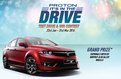 Proton Test Drive & Win Contest