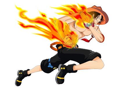 Portgas D. Ace si Tinju Api Hiken