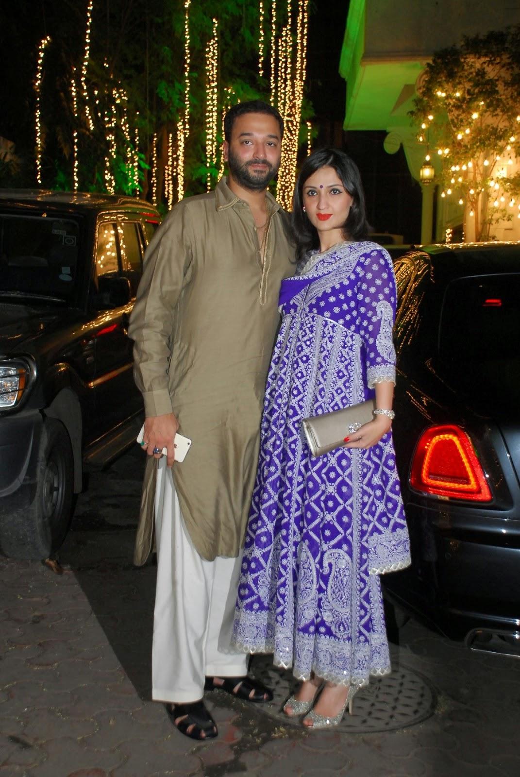 Shilpa Shetty's Diwali bash 2014 gallery