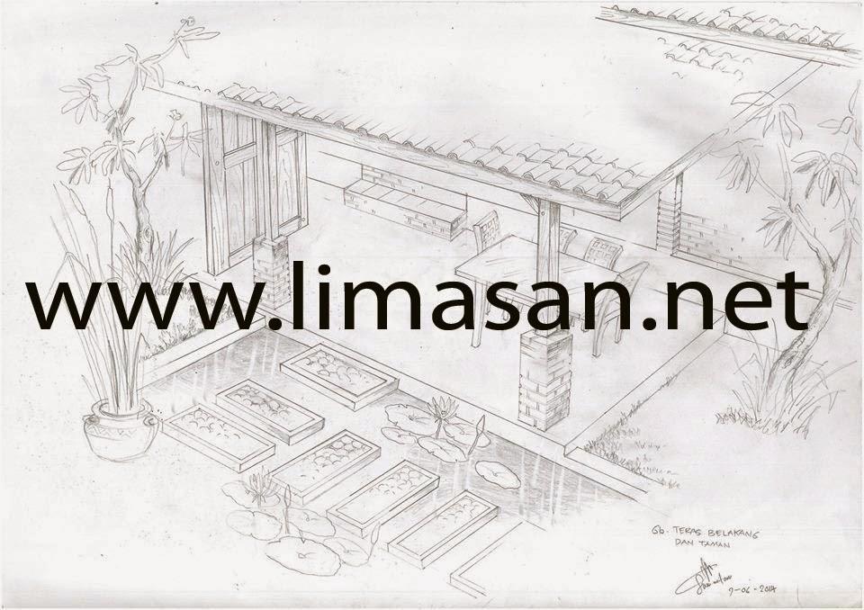 Scat Gambar Rumah Limasan