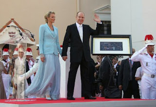 5 Charlene Wittstock & Príncipe Albert de Mônaco