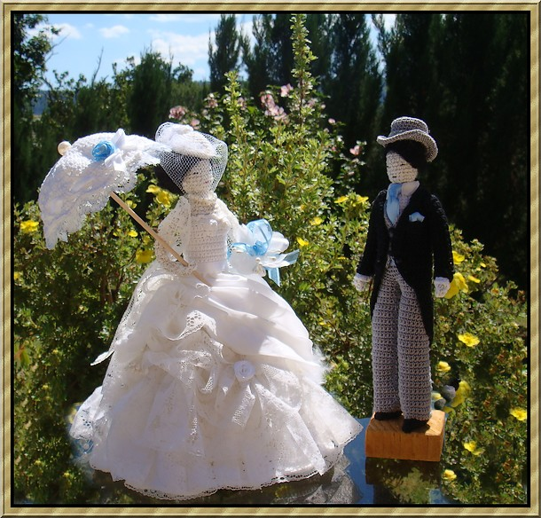 poupées pour mariage