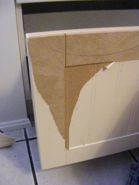 how to paint mdf cupboard doors 1