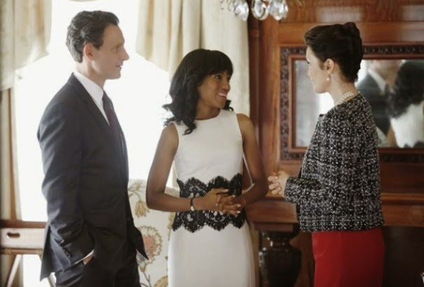 olivia pope white lace dress