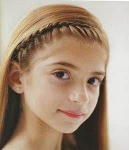 Steps to Create The French Braid Headband