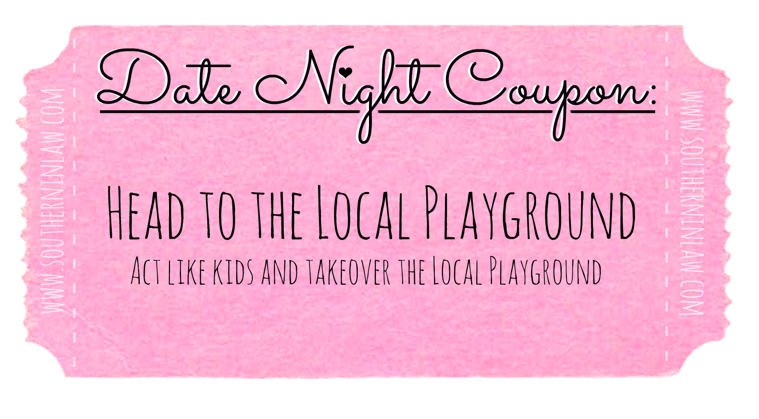 Affordable Date Ideas - Cheap Date Ideas Coupons - Head to the local playground