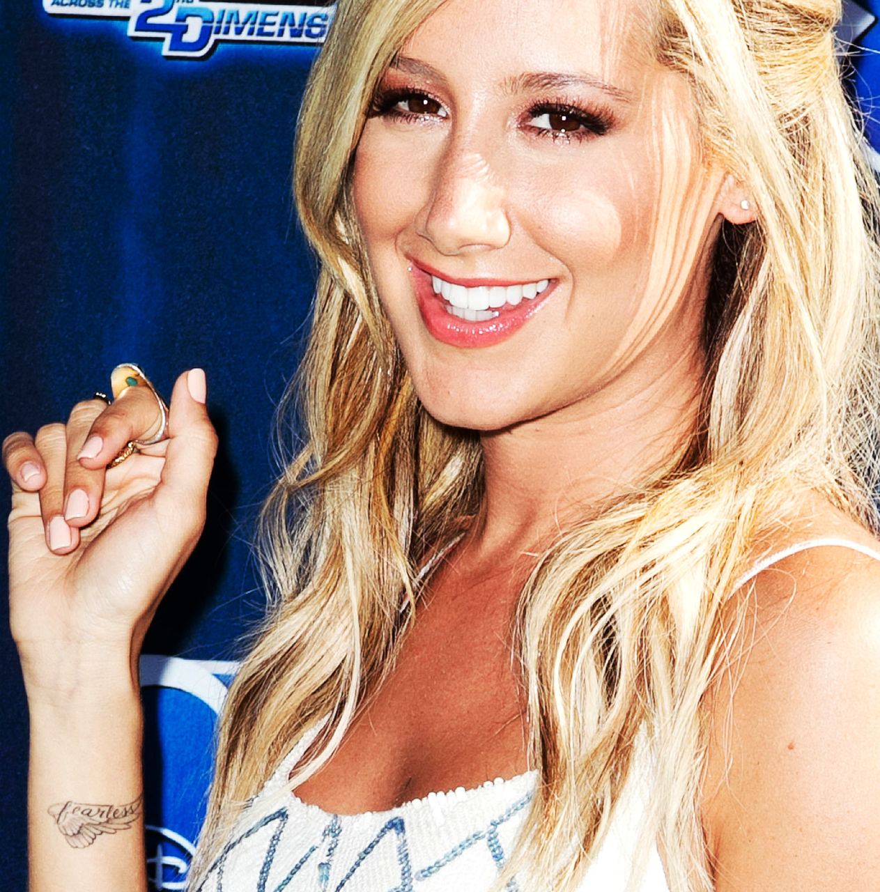 Ashley Tisdale Tattoo Fearless