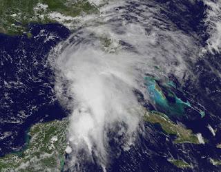 Tropischer Sturm ANDREA im Golf von Mexiko, Andrea, aktuell, Satellitenbild Satellitenbilder, Atlantische Hurrikansaison 2013, Atlantische Hurrikansaison, Golf von Mexiko, Yucatán, Florida, Kuba, Vorhersage Forecast Prognose, Juni, 2013,