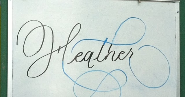 Deann Singh Calligraphy February 27 2012 Copperplate