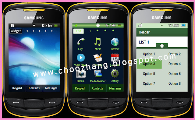 HTC Android Themes