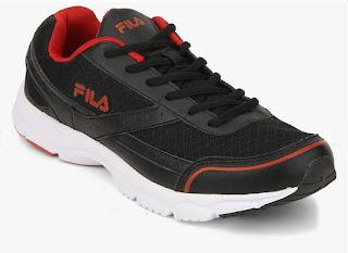 Fila Hammer Black Running Shoes