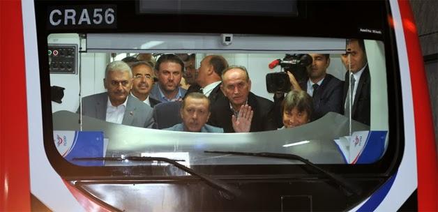 Başbakan'dan Müjde Marmaray 15 gün ücretsiz