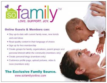 Visit So family's Website & Community