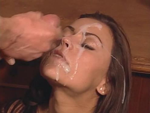 Trisha facial cum shot