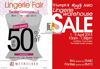 Lingerie Warehouse Fair Sale 2013