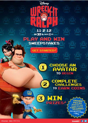 Wreck-It Ralph Play and Win