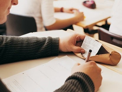 Tips Mencontek saat Ujian Nasional 2014 Tanpa Ketahuan