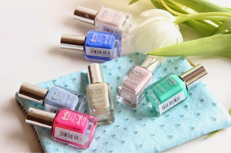 New Barry M Gelly Hi-Shine Nail Paint Shades S/S14