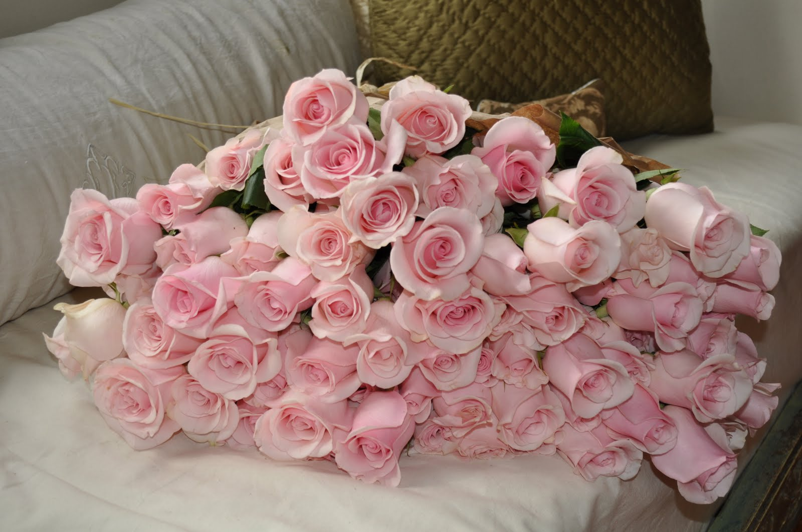 Charlottes Brocante Have You Ever Found 5 Dozen Pink Roses Left On