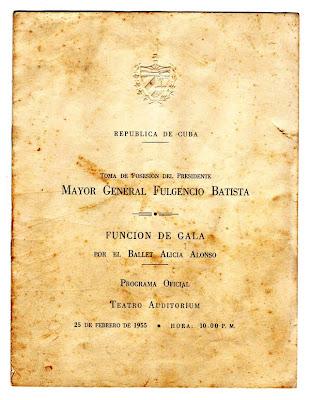 Image result for alicia alonso batista 1955