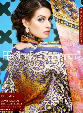 Gul Ahmed Winter Silk Dresses