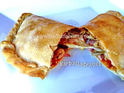 Pizza calzone reteta