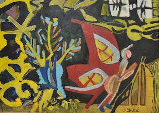 artiste peintre montpellier - Papillon de Nuit