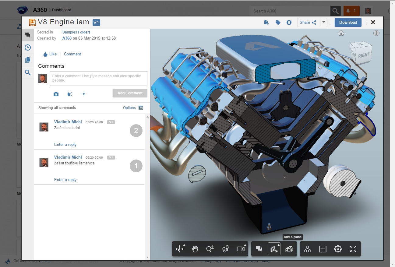 Budweiser blog improved anycad viewer autodesk a360 3d model editor