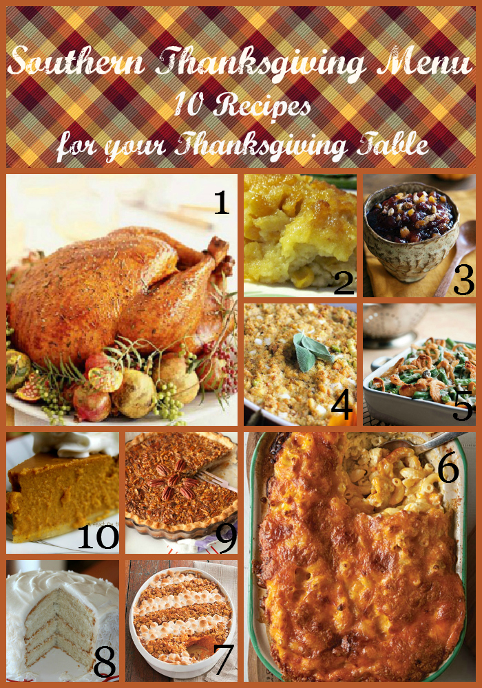 Thanksgiving menu southern 28 images traditional for Traditional southern thanksgiving dinner menu